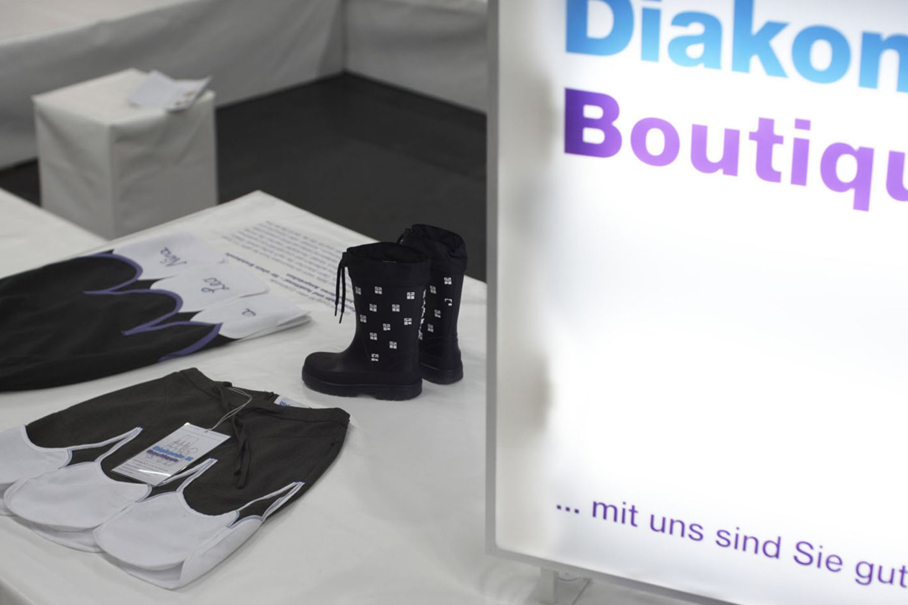 Diakonie - Messestand Boutique - Quartier Stuttgart Eventagentur und ...