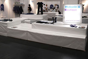 Diakonie - Messestand Boutique