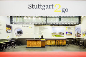 Stuttgart Marketing GmbH - IMEX Messestand